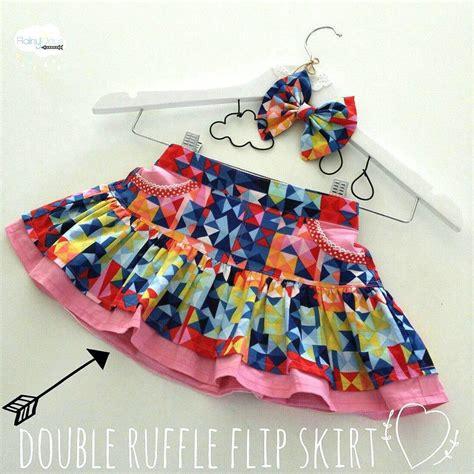 pattern emporium flip skirt girls ruffle flip skirt sewing pattern pattern emporium