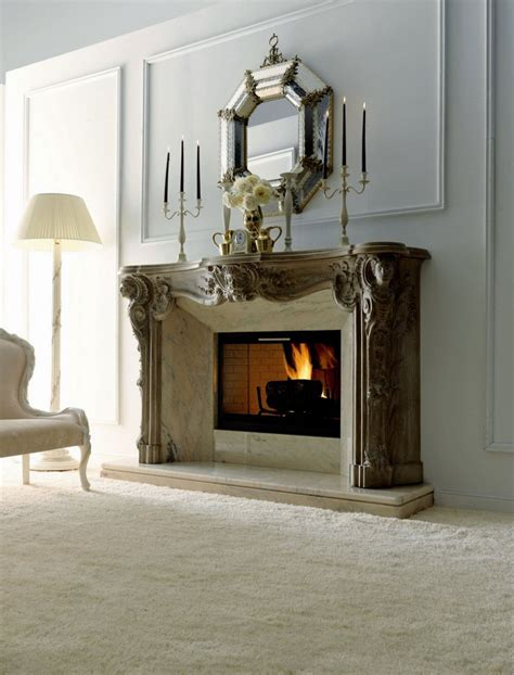 fireplace decorations decoration decorate fireplace using wall mirror ideas