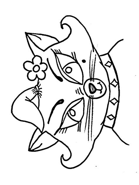 kitten face coloring page cat face coloring page az coloring pages