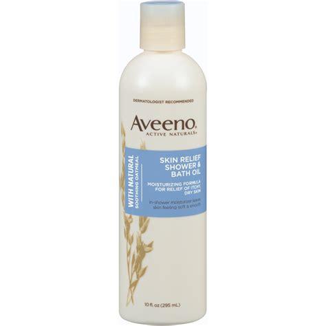 aveeno active naturals shower amp bath oil skin relief 10
