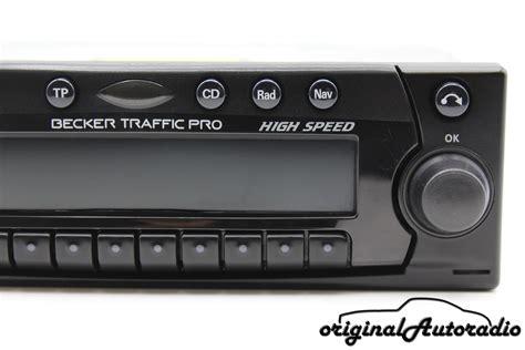becker traffic pro high speed 7820 original autoradio de becker traffic pro high speed
