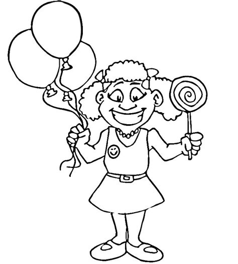 happy girl coloring page happy girl coloring pages download and print for free