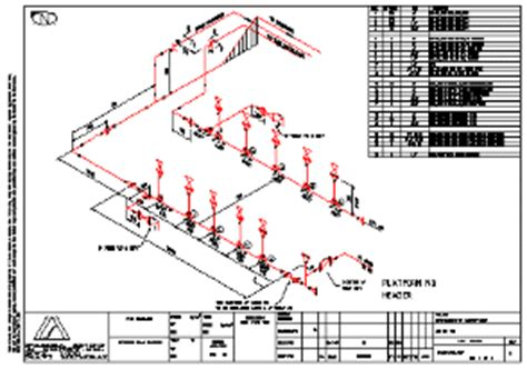 Plumbing Isometric Drawing Software by Piping Isometric Drawing Software