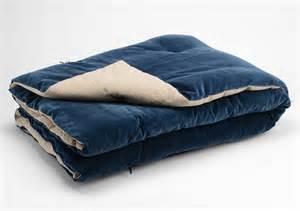 dessus de lit velours bleu