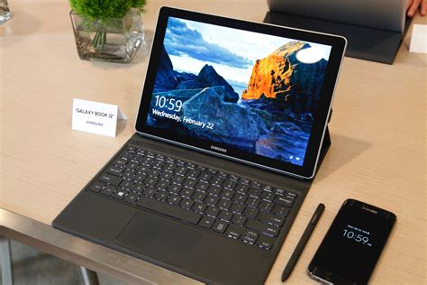 samsung takes on microsoft with 2 in 1 galaxy book techspot