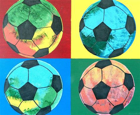 soccer painting soccer balls by ken pursley