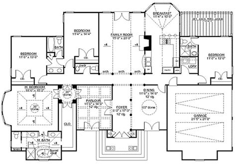 italian villa floor plans italian villa influences 12216jl architectural designs