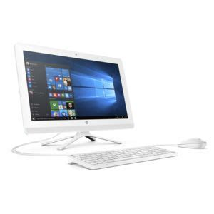 Hp 20 C304l All In One Desktop Pc achat hp 22 b011nf blanc pc intel pentium