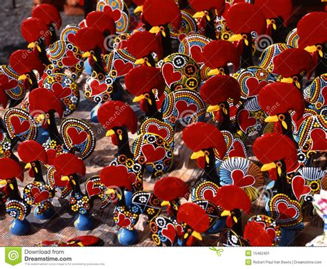 portugal crafts for barcelos roosters portugal stock image image 15462401