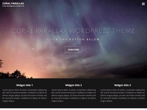theme wordpress free parallax 10 free parallax wordpress themes 2017 themely