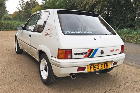 peugeot 205 rally peugeot 205 rallye review retro road test motoring research