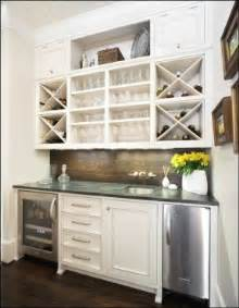 Open Kitchen Shelves Instead Of Cabinets by Wine Bar Furniture With Refrigerator Foter