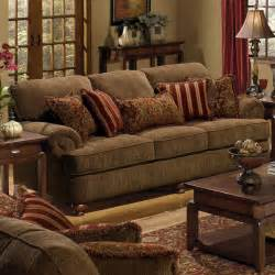 Decorative Pillows For Sofa Sofa With Rolled Arms And Decorative Pillows