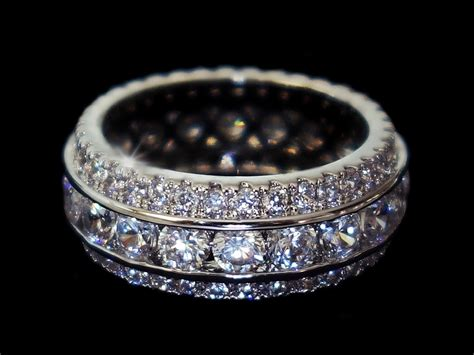 angelic amara ring eternity wedding carat infini belgium
