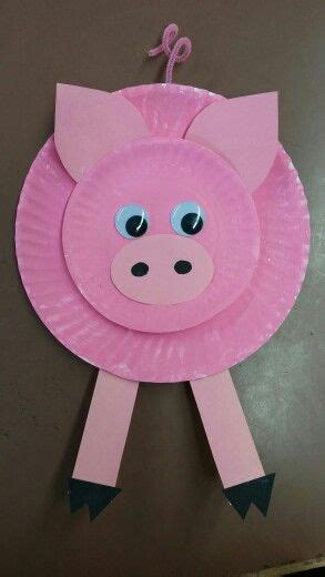 Pig Paper Plate Craft - best 25 pig crafts ideas on plastic piggy