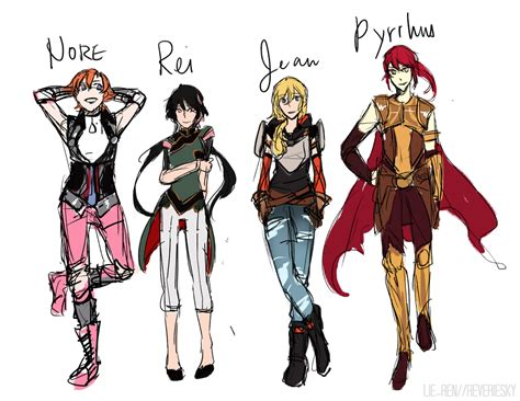 rose tattoo vindictus rwby jnpr draft by reveriesky on deviantart