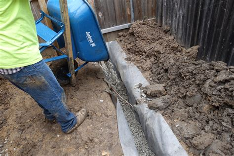 french drain in yard 28 cd landscaping friedrich caspar david standing water in yard proven