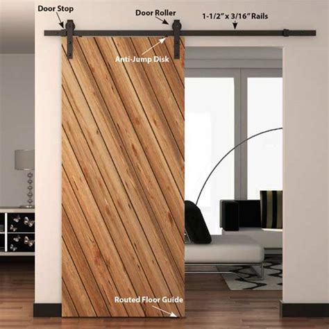 barn door parts architectural products by outwater barn door kits