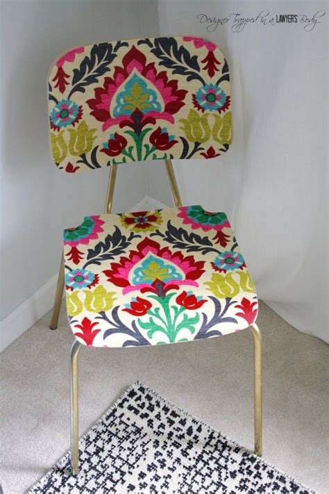 Decoupage With Fabric Tutorial - decoupage furniture think crafts by createforless