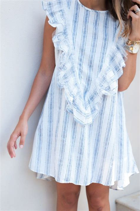 Dress Ruffel by 25 Best Ideas About Ruffle Dress On Vacation