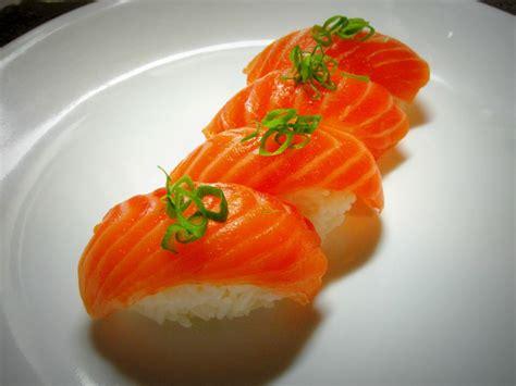 best nigiri salmon nigiri sushi doesn t get much better than this