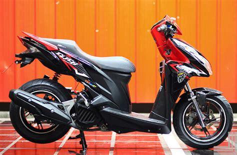 Terlaris Cover Motor Sarung Motor Matic Bebek Vario Mio Beat kumpulan gambar modifikasi honda vario techno 125 terbaru