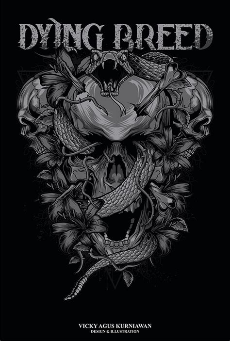 five finger death punch tattoo designs five finger punch dying breed on behance bar