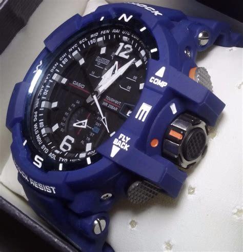 Casio G Shock Gravitymaster Gw A1100 1a Original Garansi Casio 1tahun rel 243 gio casio gravitymaster azul g shock gw a1100 1a3 r
