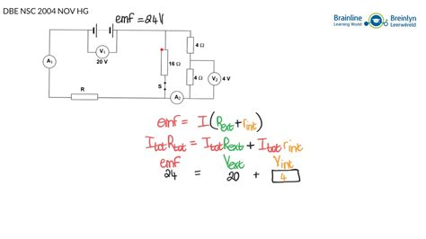 solving electrical circuits grade 12 physical sciences solving electric circuits