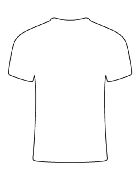 t shirt pattern printable free shape and object patterns for crafts stencils and