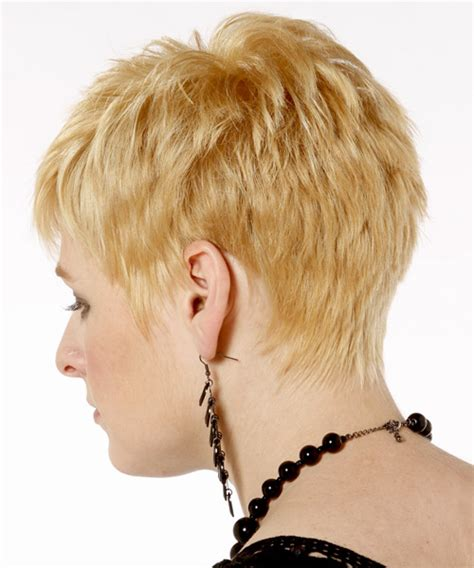 short hairsyles in charlotte nc short straight casual hairstyle light blonde golden