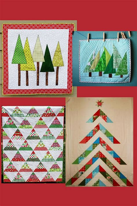 Patchwork Tree - inspiring tree patchwork projects