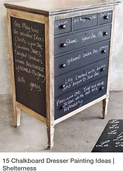 chalk paint zaragoza paint your dresser with chalkboard paint trusper