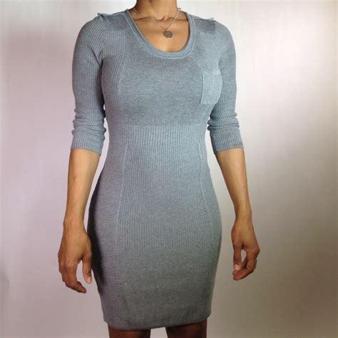 tight knit 82 h m dresses skirts grey tight knit dress from