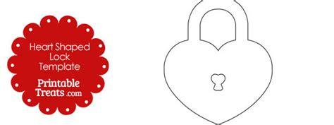 Printable Lock Templates printable shaped lock template