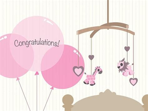 Amazon Baby Gift Card - amazon gift card print new baby girl balloons ecard gift certificate in the