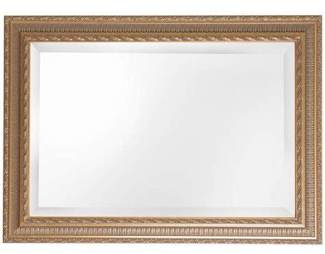 spiegel mit goldenem barock rahmen kunstspiegel de - Glasschiebetür Mit Rahmen