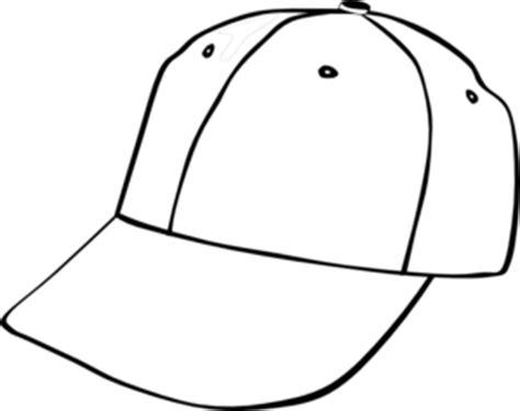 Line Cap Topi Pet baseball cap clip at clker vector clip