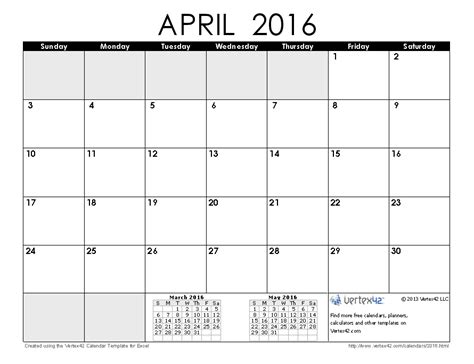 april 2016 calendar free printable calendar printable monthly calendars