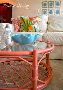 coral colored table ls ideas for decorating your home its overflowing