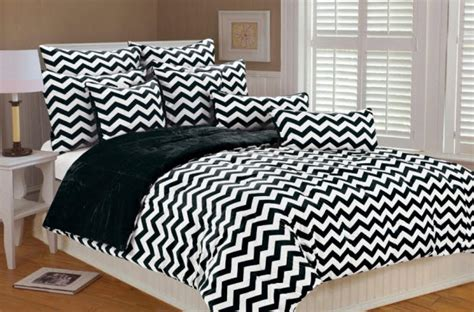 black and white chevron comforter set black and white comforter sheets bedding set twin 7 pcs