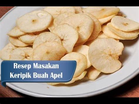 Keripik Buah Apel resep dan cara membuat keripik buah apel malang