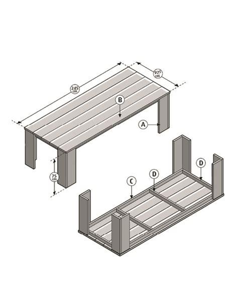 duimstok karwei zelf een tafel van steigerhout maken karwei