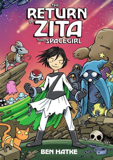 zita the spacegirl the book the return of zita the spacegirl book 3
