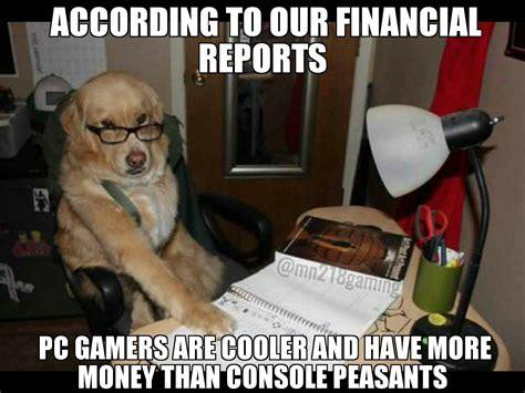 Accountant Dog Meme
