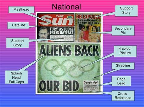 newspaper layout strapline newspaper layout analysis