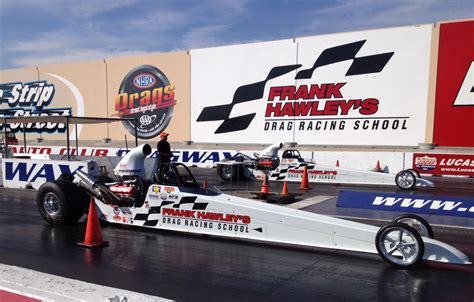 racing school open invite to race in dragster adventures at palm