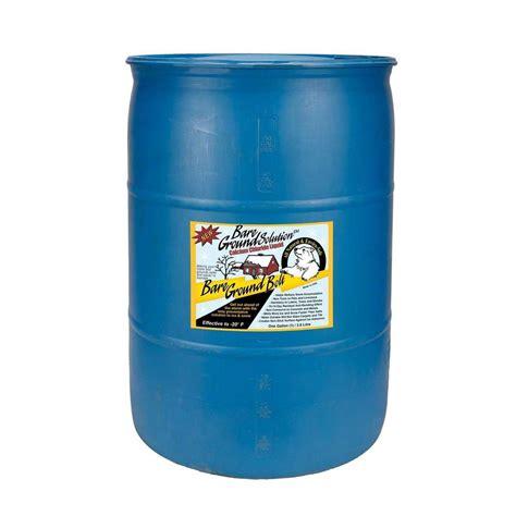 bare ground 55 gal drum bolt calcium chloride liquid