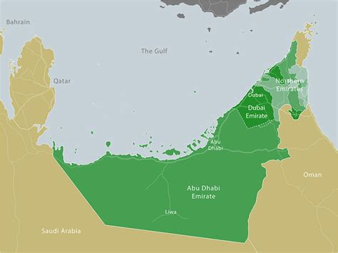 uae map middle east dubai carboun advocating sustainable cities in the