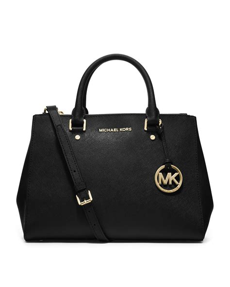Michael Kors Sutton Canvas Tote by Michael Kors Michael Medium Sutton Tote In Black Lyst